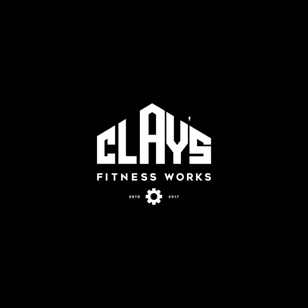 claysfitness gear logo logodesign instagram fsvisuals fitnessworks logofolio graphicgang