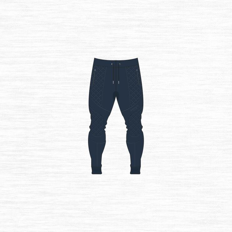 joggers blue