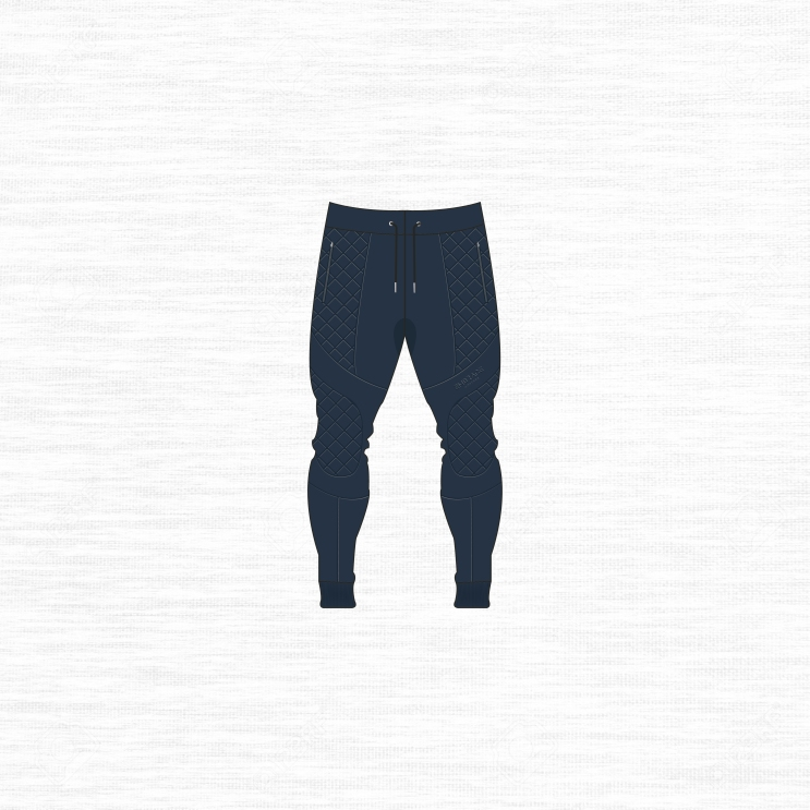 joggers blue